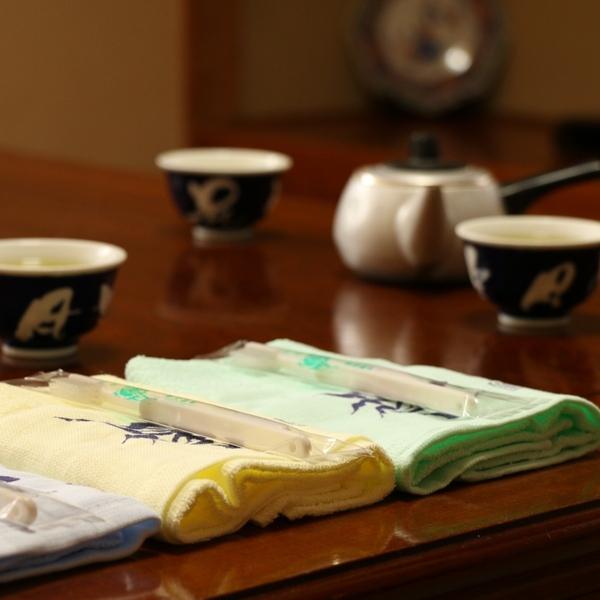 お茶&洗面セット