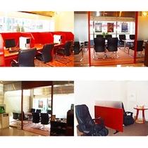 ■ビジネスカウンター・リラクゼーションルーム