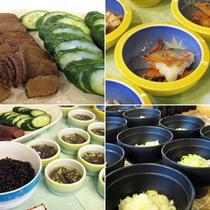 ■朝食コーナーの秋田名物!