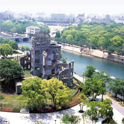 広島平和記念公園(原爆ドーム)