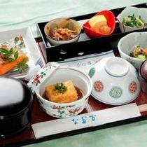 ●中四国唯一の「広島なだ万」の和朝食イメージ