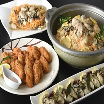 2017秋-ポルト-ディナーブッフェ-牡蠣料理(※イメージ)