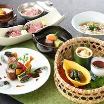 中四国唯一の広島なだ万からお肉料理を中心としたコース料理をお楽しみいただけます。