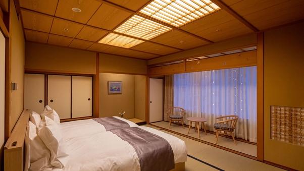 【和室ツイン】山側10畳(バス・トイレ付)◆禁煙