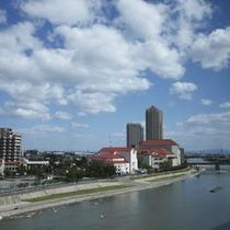 ■武庫川を望む