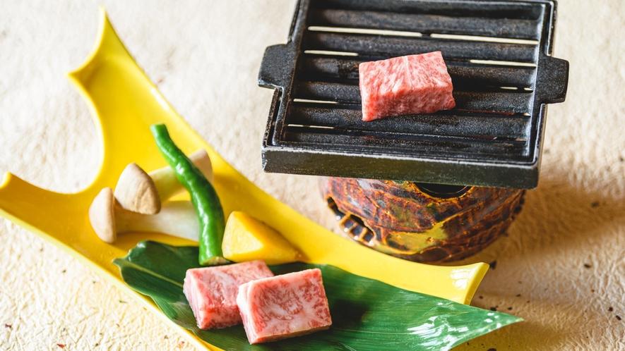 人気です!神戸牛の鉄板焼き(※画像はイメージです)