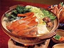 カニスキ鍋料理例