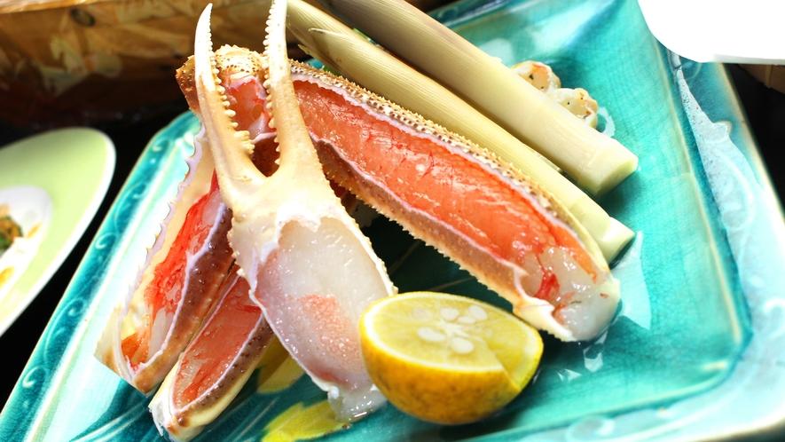 日本海のキング!松葉ガニを食す。