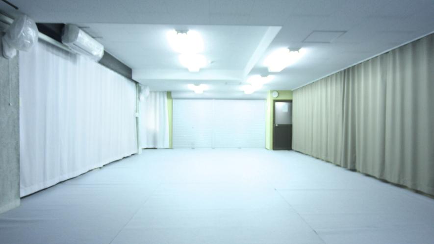 最大50名の収容が可能の多目的ホール