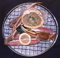 焼きガニ料理例