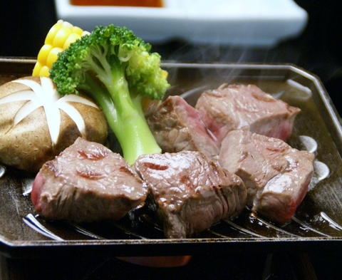 立久恵峡名物うなぎの蒲焼きとしまね和牛の鉄板焼きが同時に楽しめる宿泊プラン