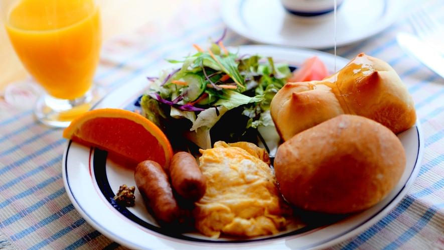 ・朝食ははちみつをたっぷりお召し上がりください♪