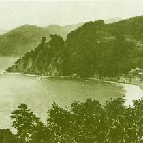 約80年前の伊豆山 宿周辺風景
