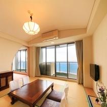 【海側】 和室10~15畳/洋室付(59~71平)