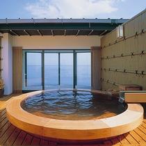 ■2つある貸切り露天風呂のうちひとつ