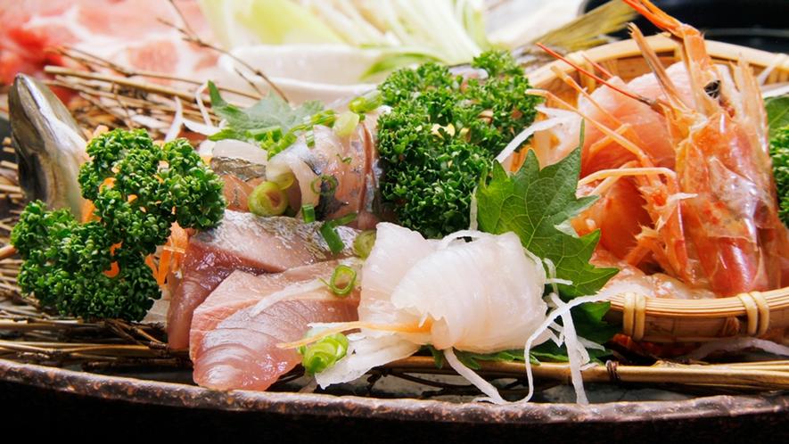 ◆刺身盛り合わせ 鮮度自慢の新鮮地魚盛り合わせ