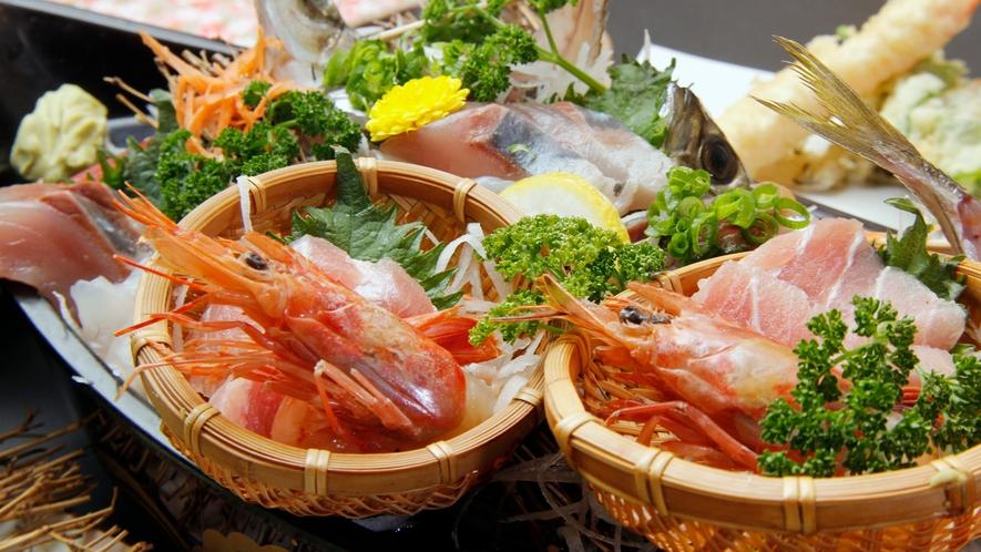 ◆舟盛り◆南房総の新鮮な海の幸が並びます♪その時々の旬をお楽しみください!