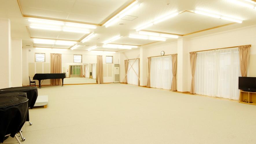 ◆設備も充実していて様々な用途に利用可能なホール