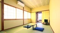リニューアルした東館の客室一例★和室10畳