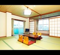 *窓の外にはのどかな景色が広がります。別館の和室部屋