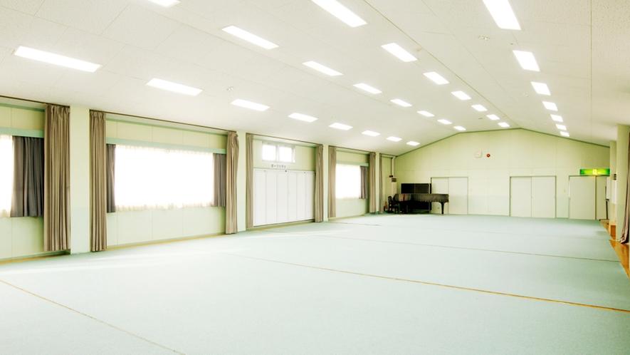 ◆150畳もあるひろ~い別館多目的ホールスペースです。用途に応じてご自由にお使いください!