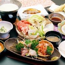 刺身盛りや豆乳しゃぶしゃぶなど一番人気の甚五郎スタンダードコースです♪