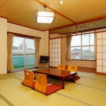 窓の外にはのどかな景色が広がります。別館の和室部屋