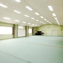 150畳もあるひろ~い別館多目的ホールスペースです。用途に応じてご自由にお使いください!