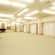 設備も充実していて様々な用途に利用可能なホール