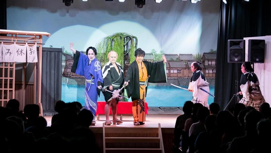 お芝居も舞踊ショーも!大衆演劇場「塩原 鳳凰座」