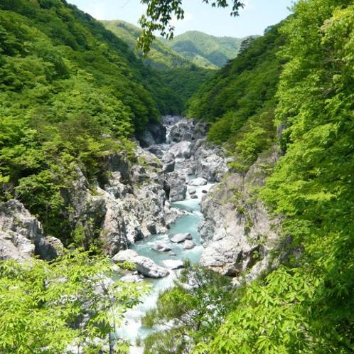那須塩原の風景(龍王峡)