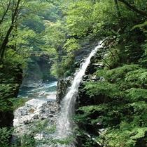 那須塩原の風景(虹見の滝)