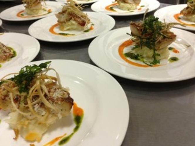 夕食のお魚料理(一例)
