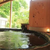 露天風呂の眺め