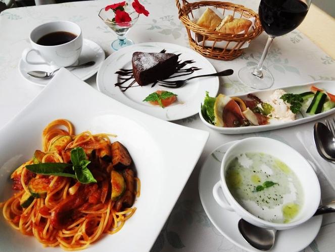 夕食(イタリアンレストランにて)