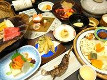 ●秋冬の健康会席料理