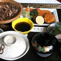 *お夕食(たちばな御膳) 一例