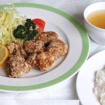 *選べるお夕食メニュー 「チキン唐揚ライス」