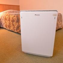 *各客室に空気清浄器を配備。快適なホテルステイをお過ごし下さい。