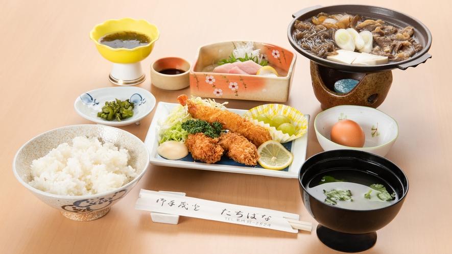 *お夕食/たちばな御膳(一例)