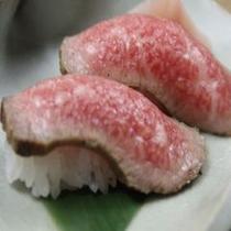 飛騨牛ローストビーフの握り寿司