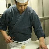 関杉料理長