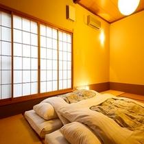新館 メゾネット寝室