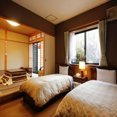 和洋室ベッドスペース