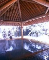 雪の外風呂