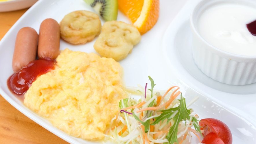 *お子様用朝食/食べやすく栄養バランスの良い朝食