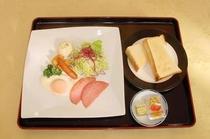 トーストセット(朝食)