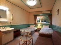 客室例ツインルーム