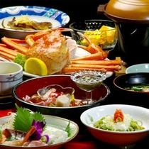 紅ずわい蟹つき料理