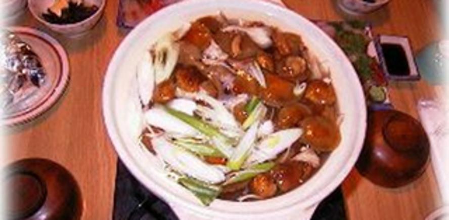 天然きのこ鍋コース(飛騨牛の味噌ステーキと岩魚お造り付)